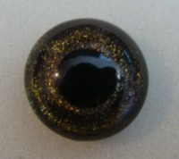 BLACK CHERRY HAND PAINTED SPARKLE EYES